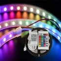 RGB LED ΦΩΤΙΣΜΟΣ ΤΑΙΝΙΑ 5 Μ. ΚΑΙ ΧΕΙΡΙΣΤΗΡΙΟ